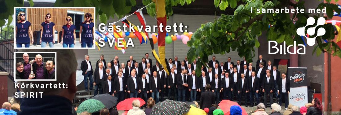 Konsert med The EntertainMen